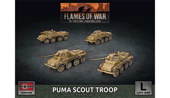 FoW: Puma Scout Troop (Plastic)
