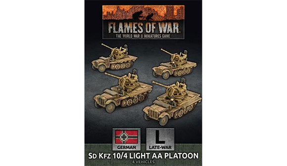 FoW: SdKfz 10/4 Light AA Platoon