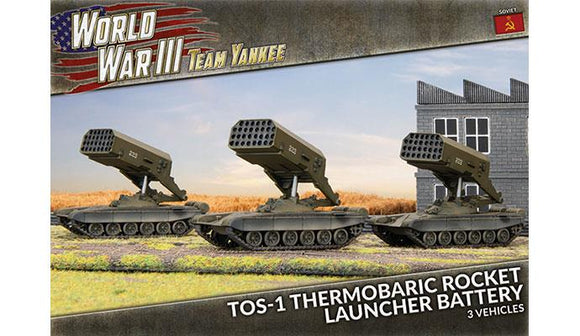 Team Yankee: TOS-1 Rocket Launcher Battery (Plastic)
