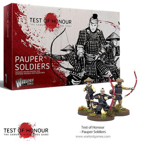Test of Honour - Pauper Soldiers