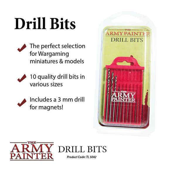Army Painter: Spare Drills & Pins