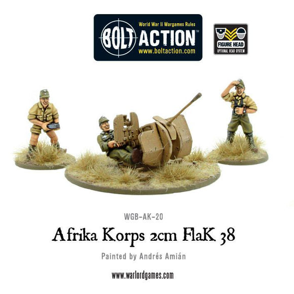 Bolt Action: Afrika Korps 2cm Flak 38