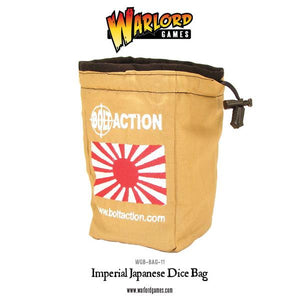 Bolt Action: Imperial Japanese Dice Bag & Dice