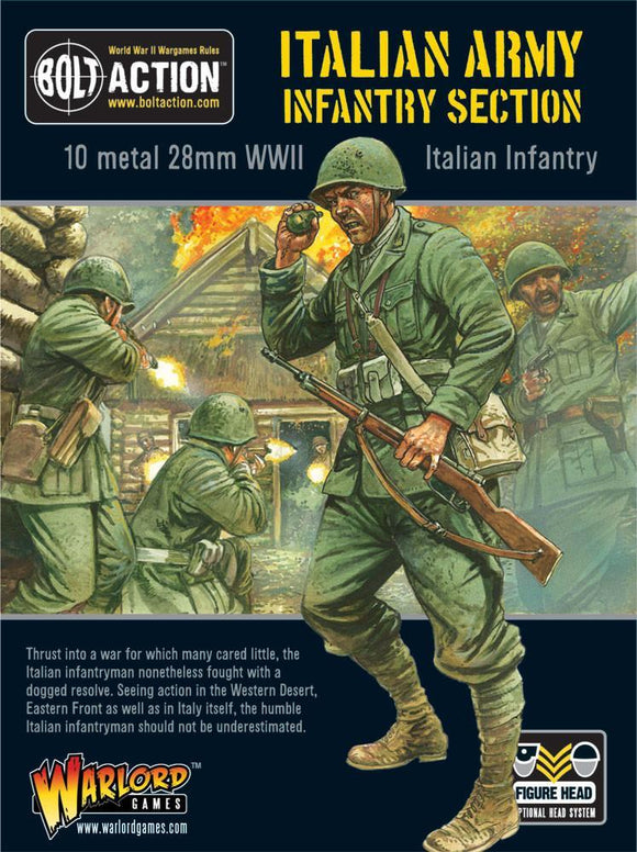 Bolt Action: Italian Infantry Section