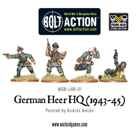 Bolt Action: German Army HQ (1943-45)