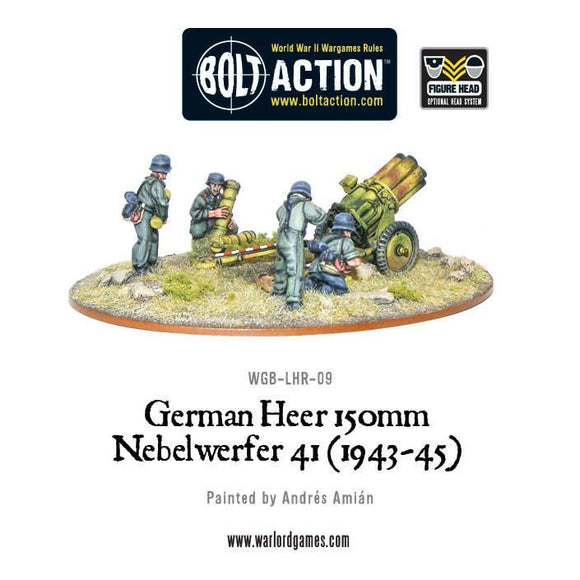 Bolt Action: German Heer 150mm Nebelwerfer 41 (1943-45)