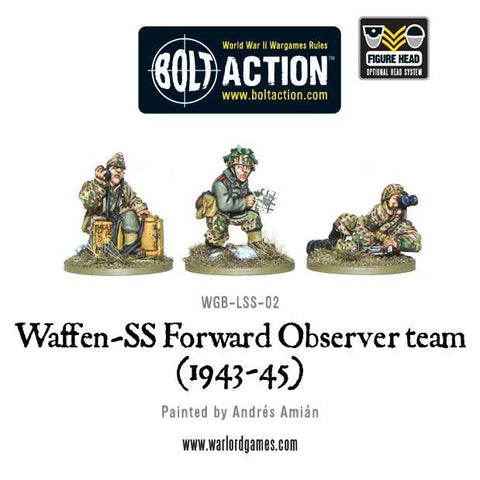 Bolt Action: Waffen-SS Forward Observer team (1943-45)