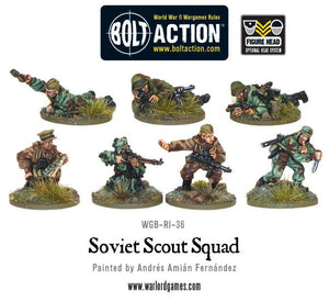 Bolt Action: Soviet Army Scouts