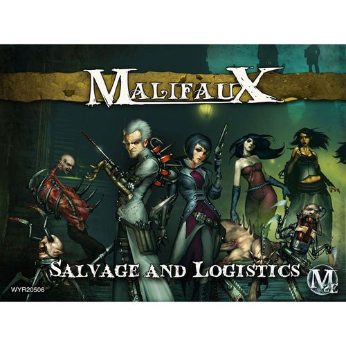 Malifaux Outcasts: Salvage and Logistics (Leveticus) Set