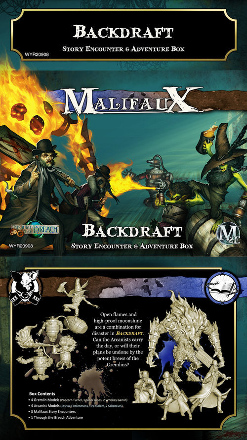 Malifaux 2E Encounters: Backdraft Encounter Box