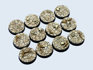 Micro Arts: Wasteland Bases, Round 25mm (5)