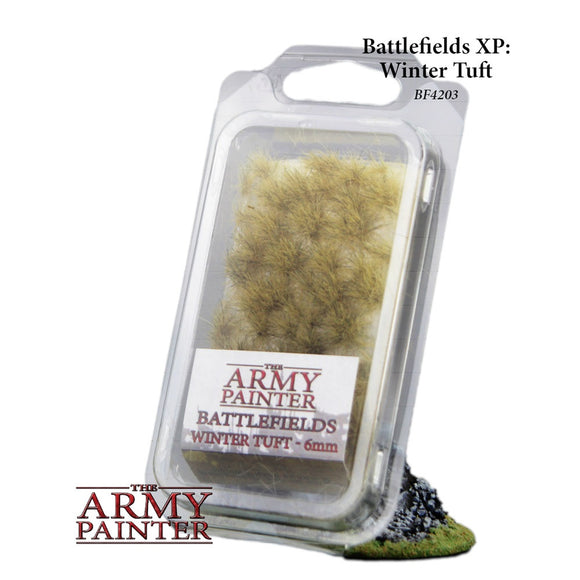 Army Painter Battlefields Basing - Winter Tufts