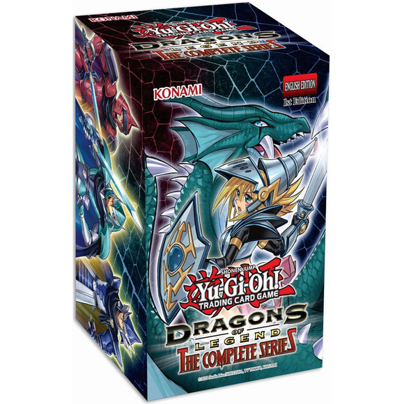 YGO Dragons of Legend: The Complete Series Booster