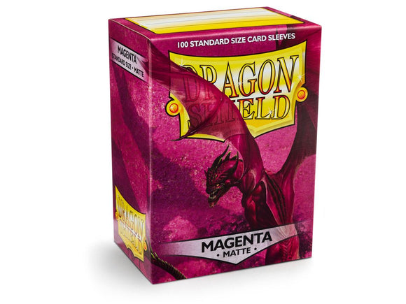 Dragon Shield Card Sleeves: Matte Magenta (100)