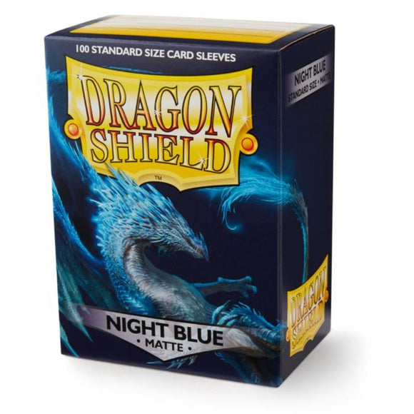 Dragon Shield Card Sleeves: Matte Night Blue (100)
