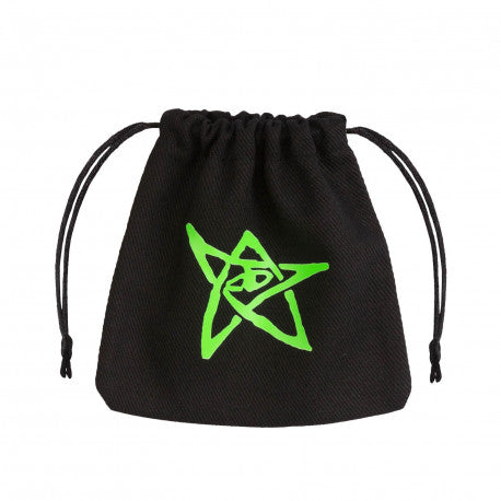 Q-workshop: Call of Cthulhu Black & Green Dice Bag