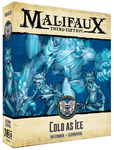 Malifaux 3E Arcanist: Cold as Ice