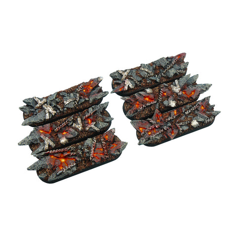 Micro Arts: Chaos Waste Bases, Bike 25x70mm (4)