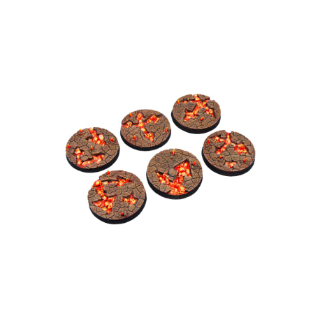 Micro Arts: Chaos Waste Bases, Round 40mm (2)