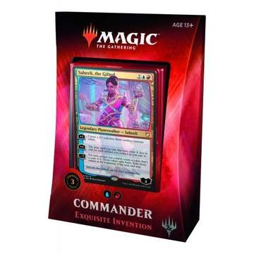 MTG: Commander 2018 Deck - Exquisite Inventions