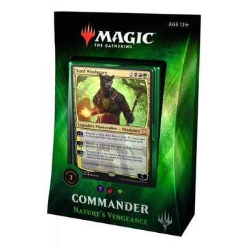 MTG: Commander 2018 Deck - Nature's Vengeance