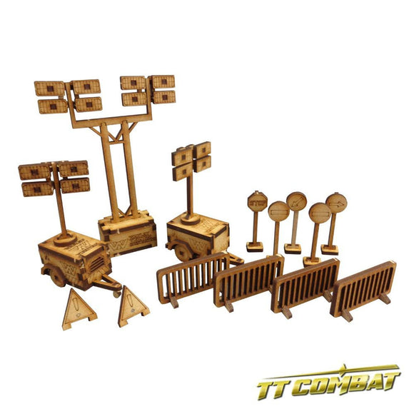 TTCombat Terrain - Building Site Set
