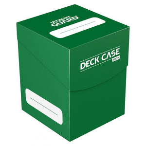 Ultimate Guard Deck Case 100+ Standard Size (Green)