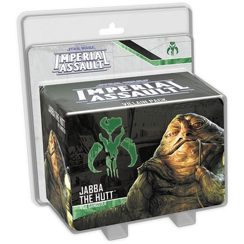 Star Wars: Imperial Assault - Jabba the Hutt, Vile Gangster Villain Pack