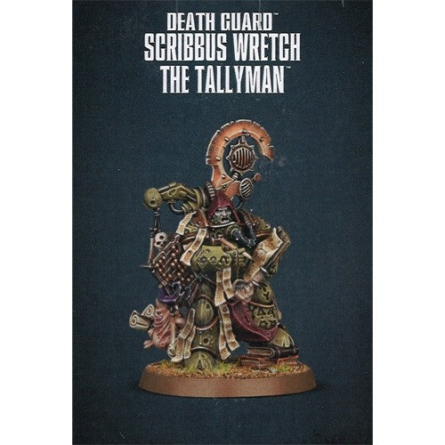 Warhammer 40K: Death Guard - Scribbus Wretch the Tallyman