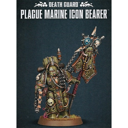 Warhammer 40K: Death Guard - Plague Marine Icon Bearer
