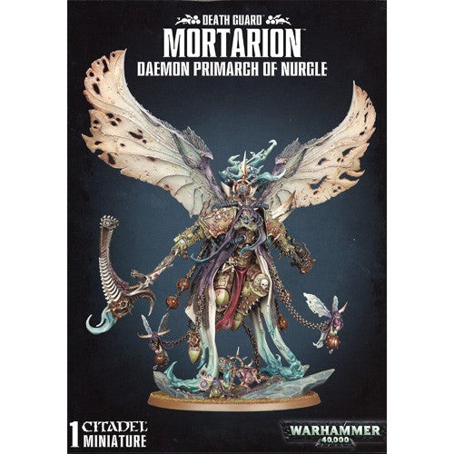 Warhammer 40K: Death Guard Daemon Primarch Mortarion