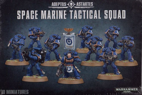Warhammer 40K: Space Marine Tactical Squad