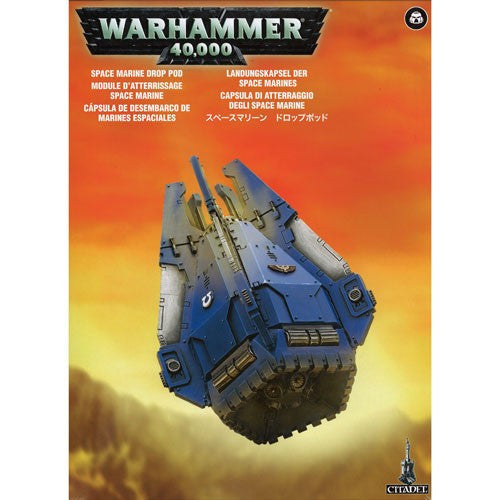Warhammer 40K: Space Marine Drop Pod