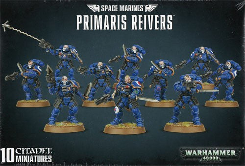 Warhammer 40K: Space Marines Primaris Reivers