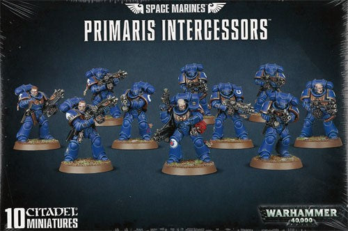 Warhammer 40K: Space Marine Primaris Intercessors
