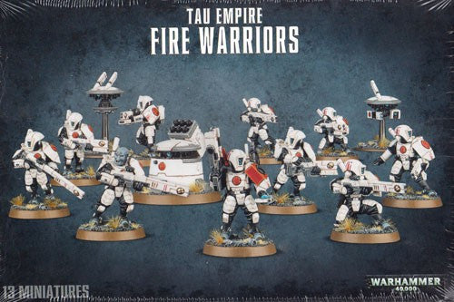 Warhammer 40K: T'au Empire Fire Warriors