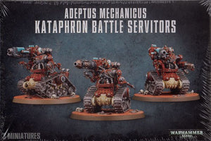 Warhammer 40K: Adeptus Mechanicus Kataphron Battle Servitors