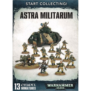 Warhammer 40K: Start Collecting! Astra Militarum