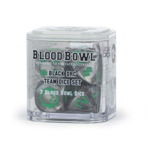 Blood Bowl: Black Orc Team Dice Set