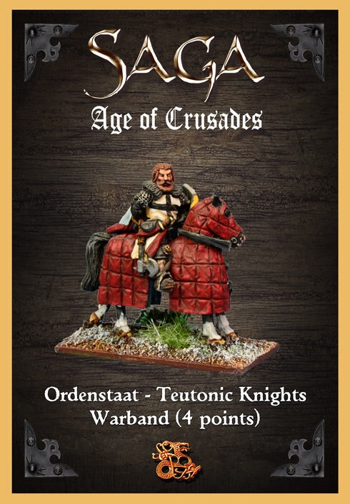Saga: 	Ordenstaat / Teutonic Knights Warband Starter (4 points)