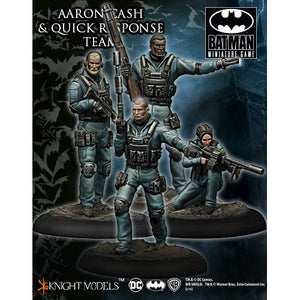 Batman Miniatures Game: Aaron Cash and Quick Response Team