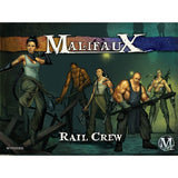 Malifaux Arcanists/Ten Thunders: Rail Crew (Mei Feng) Set