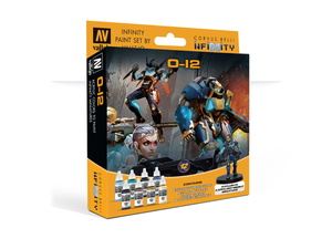 Infinity Model Color Set: Infinity O-12 Exclusive Miniature