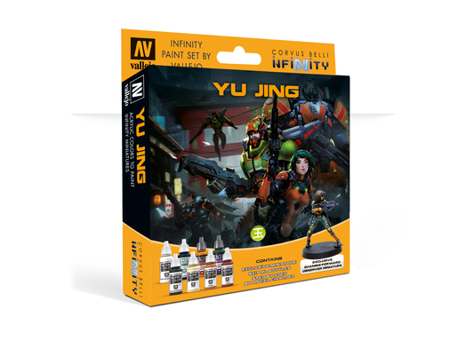 Infinity Model Color Set: Infinity Yu Jing Exclusive Miniature