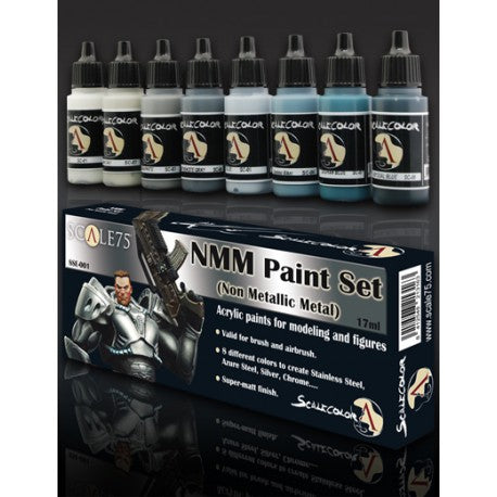 Scale75 - NMM Paint Set (STEEL)