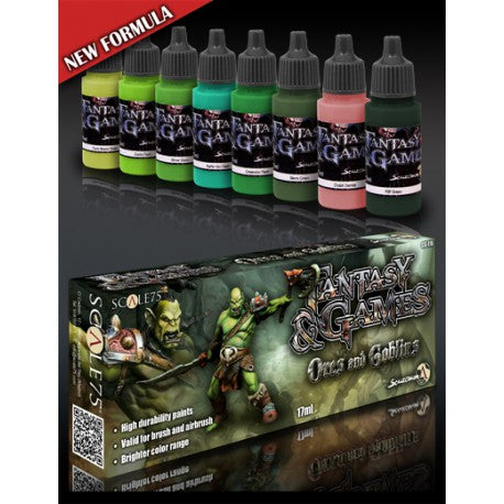 Scale75 - Orcs and Goblins paint set
