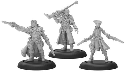 Warmachine Mercenaries: Caine's Hellslingers Warcaster Unit