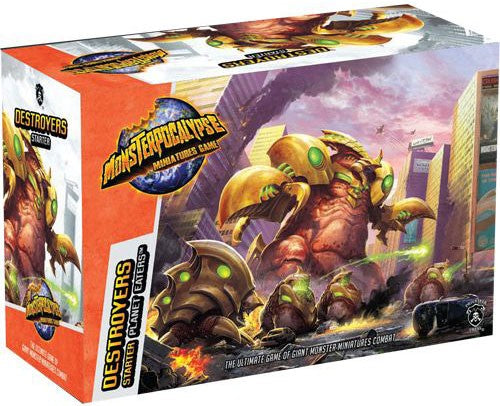 Monsterpocalypse: Destroyers - Planet Eaters Starter