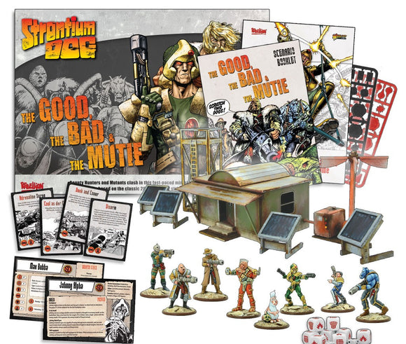 Strontium Dog: The Good, The Bad and the Mutie Starter Game