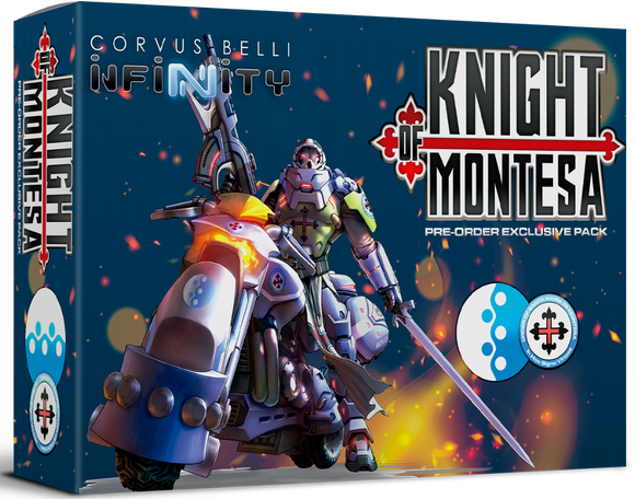 PanOceania: Knight of Montesa (Pre-Order Exclusive Pack)